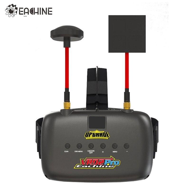 Eachine VR D2 Diversità Pro 5 Pollici 800*480 40CH 5.8G FPV occhiali w/DVR Lente Regolabile Occhiali Video per FPV Quadcopter Drone