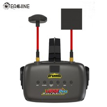Eachine VR D2 Pro 5 Inches 800*480 40CH 5.8G Diversity FPV Goggles w/ DVR Lens Adjustable Video Glasses for FPV Quadcopter Drone(China)