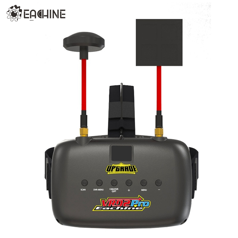 Eachine VR D2 Pro 5 Inches 800*480 40CH 5.8G Diversity FPV Goggles w/ DVR Lens Adjustable Video Glasses for FPV Quadcopter Drone