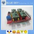 1 conjunto = New v3 escudo cnc gravura machine/3D Impressora/+ 4 pcs A4988 driver da placa de expansão para Arduino