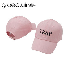 Glaedwine Cotton gorras bone TRAP Hat Pink Pretty Girls women Baseball Cap Dad Hat for men Hip Hop Snapback Casquette Unisex цена в Москве и Питере