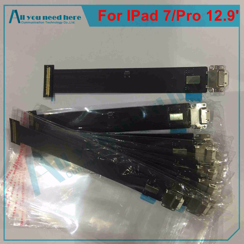 IP0033 For IPad Pro 12.9 Inch (IPad 7) Charger Charging USB Dock Connector Port Flex Cable Ribbon Plug Repair Part Wifi version(4)