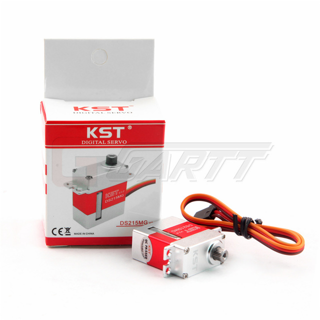 Freeshipping  KST (3 PIECES/LOT) DS215MG Digital V3.0 Version Coreless Swashplate CCPM/Rudder Servo For 450 450L RC Helicopter