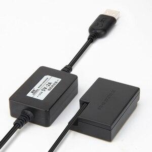 Image 2 - Адаптер питания для Canon EOS 750D, 760D, 77D, 800D, 200D, Rebel SL2, Kiss X8i, T6i, T6S, с USB кабелем, с зарядным устройством, с зарядкой от USB кабеля, с разъемом для зарядки в виде батареи, для Canon EOS, 760D, 760D, 77D, 77D, 800D, 800D, 800D