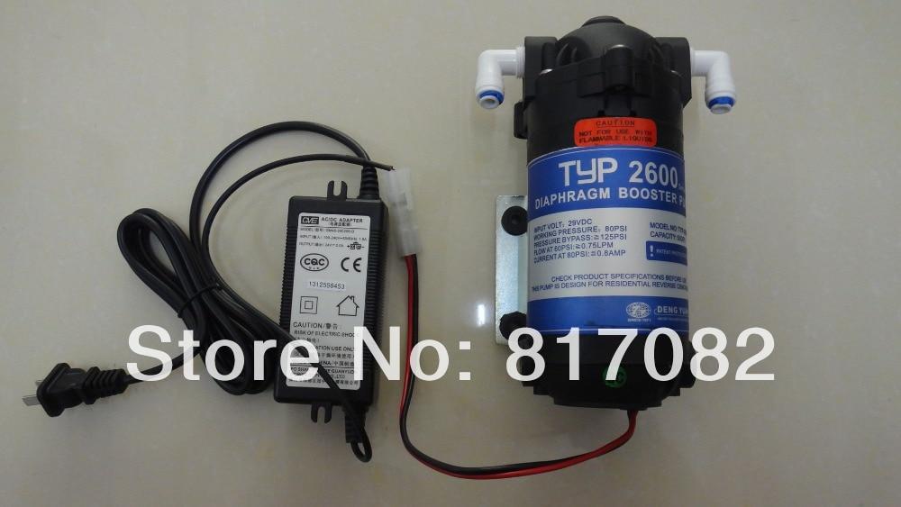 24v 100gpd Ro Water Booster Pump 2600dh Booster Pump