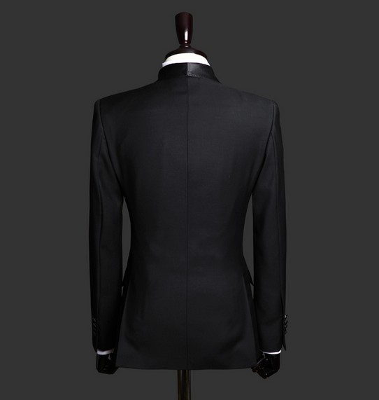 Kuum müük Musta rätikuga kahekordne rinnaga äritegevus Meestele - Meeste riided - Foto 3