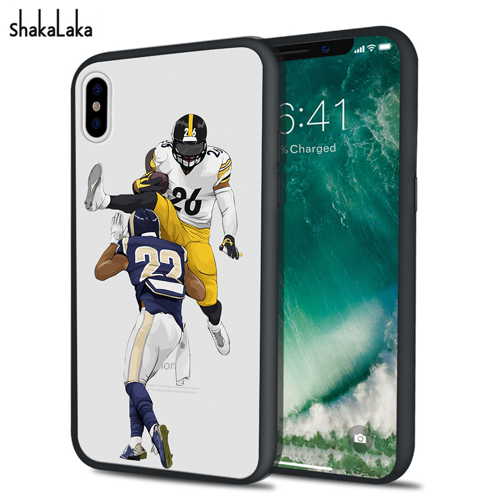 Cartoon Soccer Football Player Stars Hard Back Phone Case For iPhone X 6 6s 7 8 Plus 5 5s SE Cute Fundas Capas Coque Back Covers