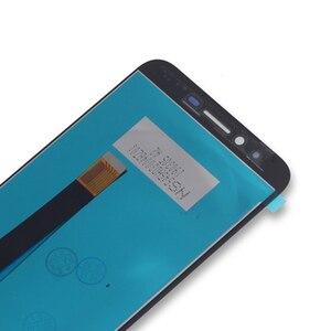 Image 3 - 5.5 pollici originale per HOMTOM S99 LCD + touch screen di ricambio per HOMTOM S99 schermo LCD mobile parti del telefono di Trasporto trasporto libero