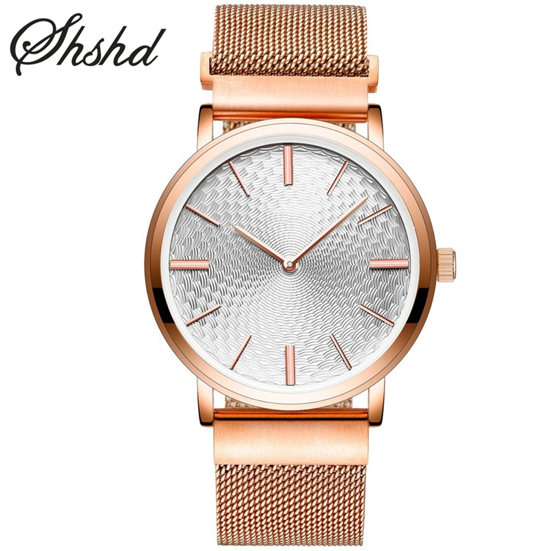 ФОТО Ultra Thin Watches For Men Quartz Wristwatches Analog Display Stainless Steel Mesh Band Rose Gold Clock Male Silver Reloj Hombre