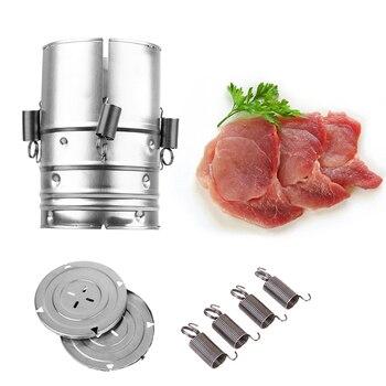 1 PC צורה עגולה נירוסטה חזיר לעיתונות מכונת פירות ים בשר עופות כלים מטבח בישול כלים למסיבה