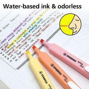 Image 4 - Stabilo Swing Cool Pastel Markeerstift En Tekst Marker (6 Kleuren) Kantoor Schoolbenodigdheden