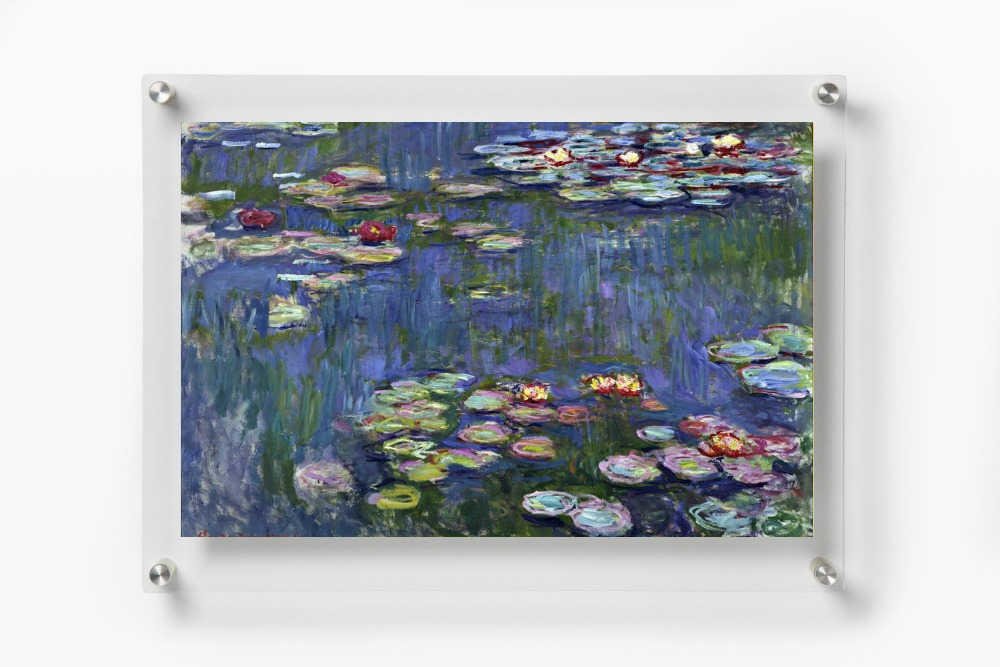 5pack of 8X10 inches Wall Mounted Clear Acrylic Photo Rectango ...