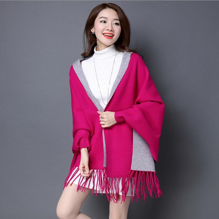 Женские свитера для зимы, Женская куртка с длинным рукавом, тонкая куртка, Длинные Топы - Цвет: as picture