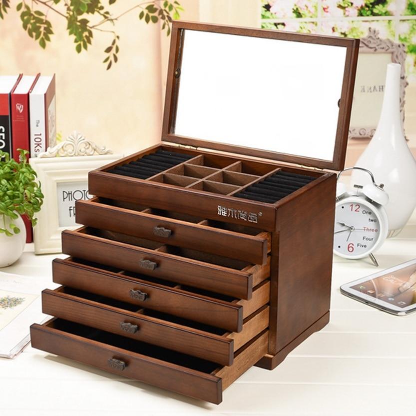 Wedding Preservation Boxes: Organizador Storage Box Jewelry Box Wooden Princess