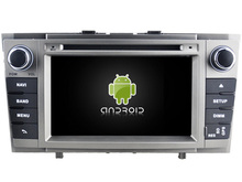 Для Toyota Avensis 2008-2013 Android 7.1 dvd-плеер GPS Аудио мультимедиа авто стерео Поддержка DVR WI-FI DSP dab OBD
