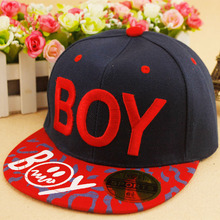 цены Hot Sale New Spring Summer Baby 3D Letter BOY cap boy Adjustable Baseball Cap 3-8 Years Kids Snapback Hip-Hop Hats Sun Hat