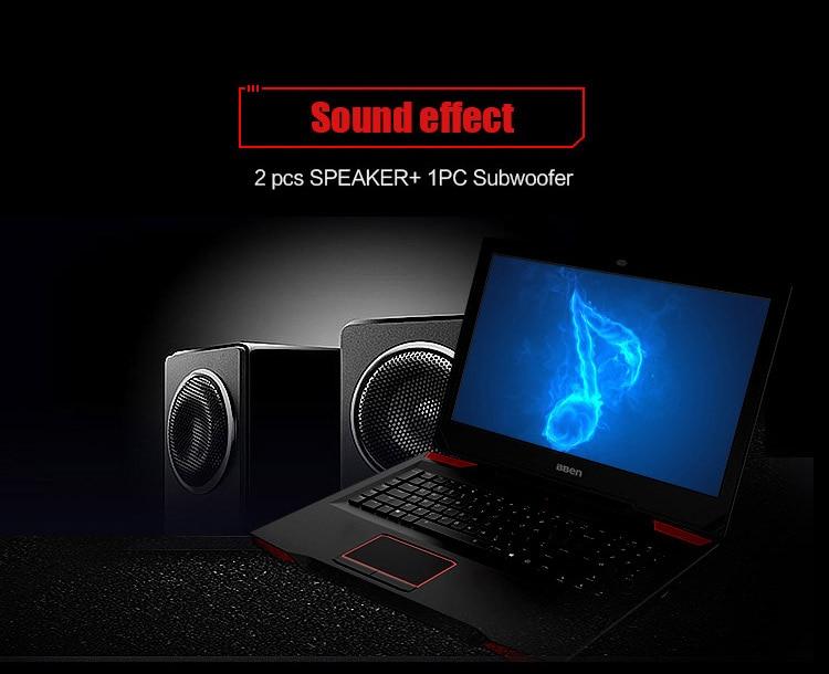"Bben G17 Gaming laptop NVIDIA GTX1060 GDDR5 17.3"" pro windows10 intel 7th gen. i7-7700HQ DDR4 8GB/16GB/32GB RAM M.2 SSD"