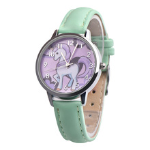 Girls' Analog Unicorn Watch