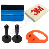 Car wrapping vinyl film sticker install tools kit safety snitty cutter 3m felt squeegee magnet holder.jpg 200x200