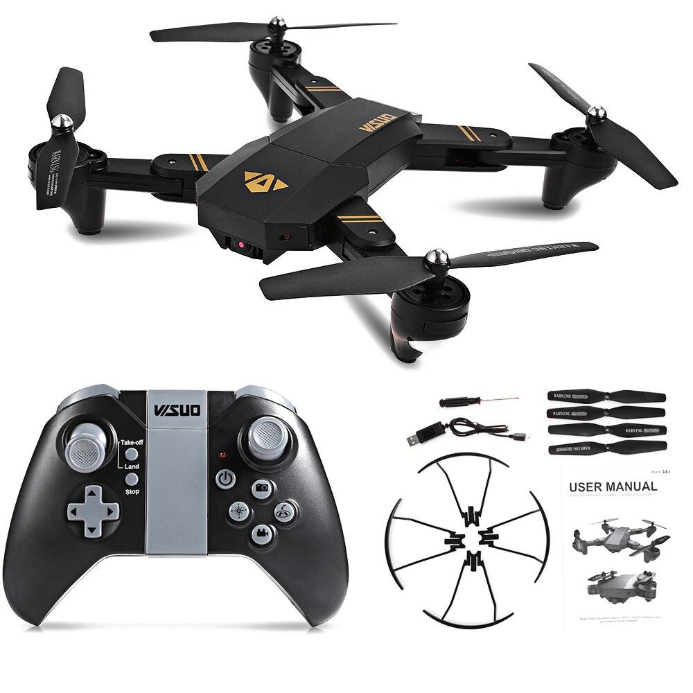 XS809HW XS809W складной Wi-Fi FPV Drone селфи Дрон с 0.3MP/2MP HD Камера высота Удержание Quadcopter