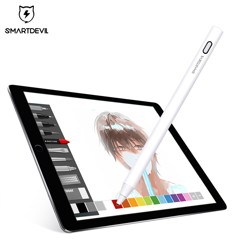SmartDevil Capacitive Screen Universal Touch Pen For IPad Pro 12.9 11 10.5 Inch For Apple Pencil Stylus Pen Stylus Touch Pen