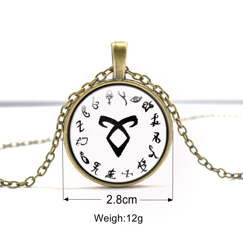 Mortal Instruments Shadowhunters Pendant
