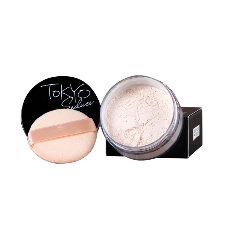 4 Colors Smooth Loose Powder Makeup Transparent Finishing Powder Waterproof Cosmetic For Face