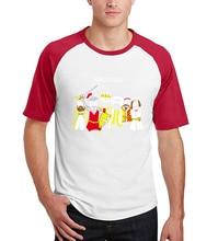 2017 new raglan short sleeve brand punk tops tees men Funny Science Chemistry Noble Gas camisetas Shirts summer fitness t shirt