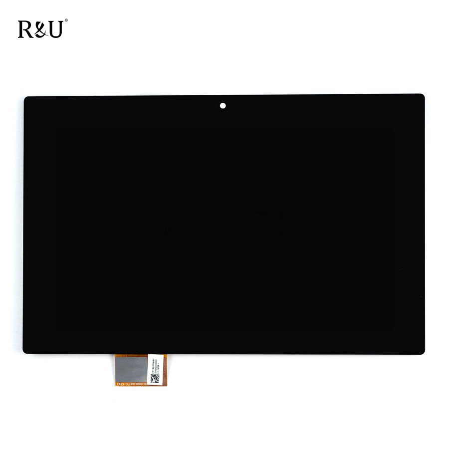 R&U Touch screen + LCD Assembly Replacement Part for Sony Xperia Tablet Z SGP311 SGP312 SGP321 10.1 Black Tablet PC