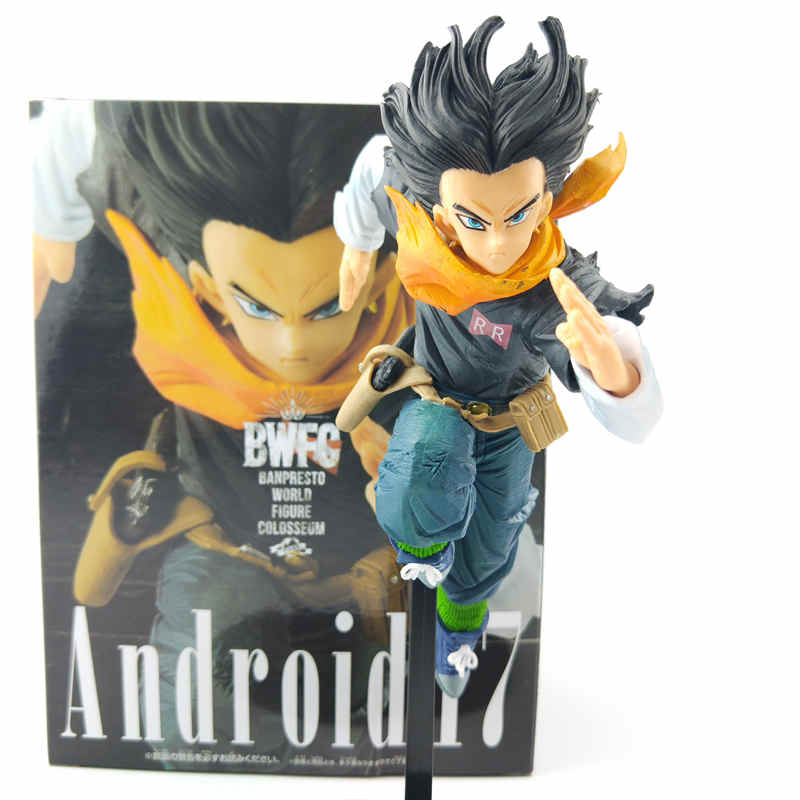 Banpresto Action Figure Dragon Ball BWFC2 Android No.17 Lapis PVC Figure Model Toys DBZ Figurine Brinquedos Doll Collection ToyBanpresto Action Figure Dragon Ball BWFC2 Android No.17 Lapis PVC Figure Model Toys DBZ Figurine Brinquedos Doll Collection Toy