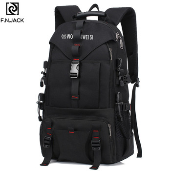 F.N.JACK New Creative Travel Bags Large Capacity Fashion Computer Shoulder Outdoor Backpack Bagpacks for Men Causual Bookbag