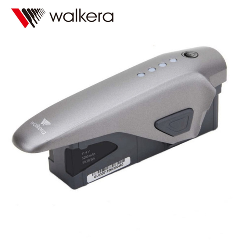 Walkera VITUS 320 Spare Parts 11.4V 5200mAh 3S Original Intelligent Flight Lipo Battery for RC 4K Camera Drone Accessories original walkera devo f12e fpv 12ch rc transimitter 5 8g 32ch telemetry with lcd screen for walkera tali h500 muticopter drone