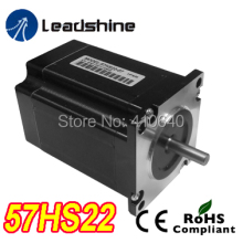 Free Shipping GENUINE Leadshine 57HS22 (57HS22-A)2-Phase NEMA23 Stepper Motor 1.5 N.m 4.0 A length 81mm shaft 6.35 or 8 mm