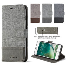 sFor Xiaomi Xiomi Redmi 5 Plus Case MUXMA Luxury Faux Leather Cover For Redmi5 Phone Cases Canvas Flip Wallet Fundas Card Slots(China)