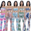 5 colors 2016 summer plus size S-XL 2 sets sexy printed rompers womens two piece bodycon jumpsuit bodysuit club wear jumpsuit
