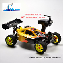 HSP RACING RC CAR TOYS 1/8 BAZOOKA ITEM 94081GT WITHOUT ENGINE AND WITHOUT REMOTE CONTROL