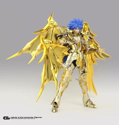 New GT Great Toys Saint Seiya Myth Soul of God Gold EX Gemini SaGa metal armor Myth Cloth God Action Figure Collection Toy