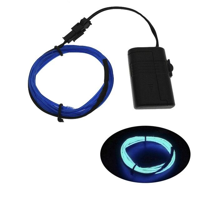 1M Neon Light Dance Party Decor car Lights Neon LED lamp Flexible EL ...