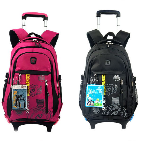 Fashion Children School Bags Kids Backpacks School Bag With Wheels ...