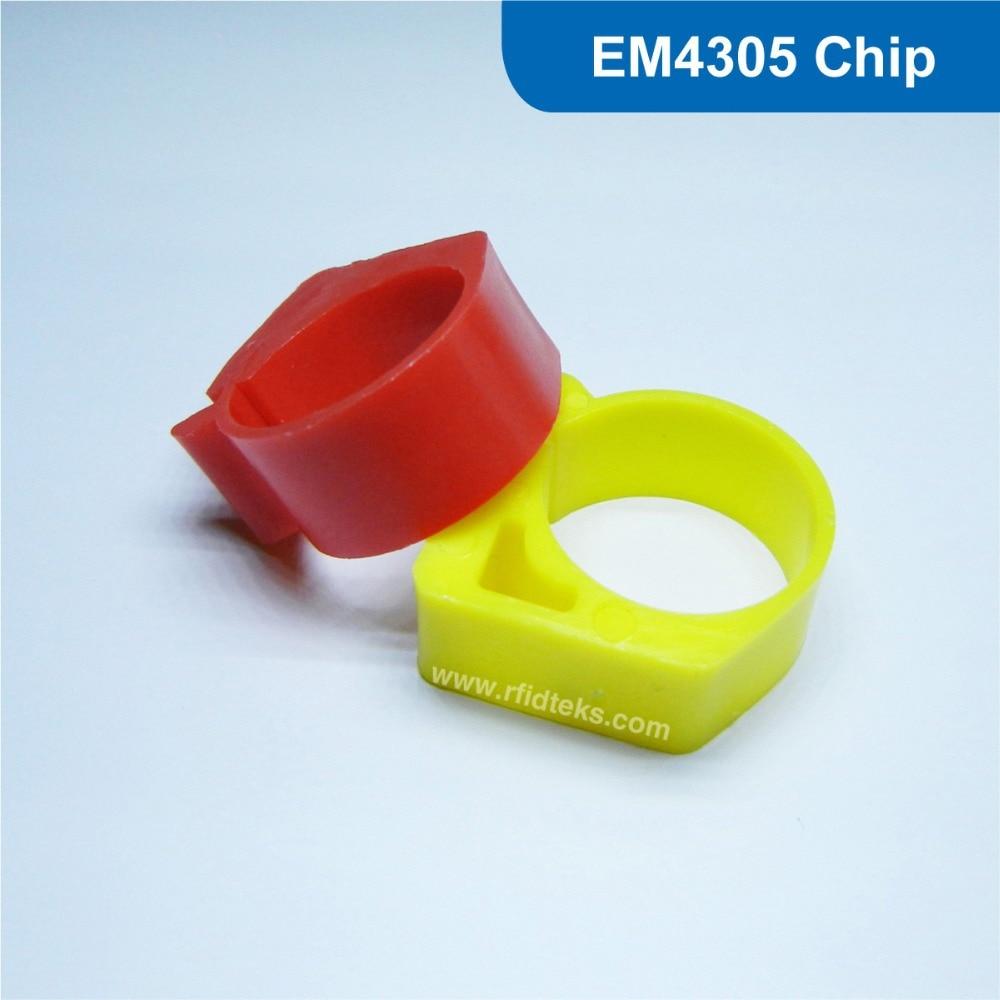 passive rfid Chicken ring tag rfid chicken tag 125KHz RFID Animal Tag RFID pigeon foot tag