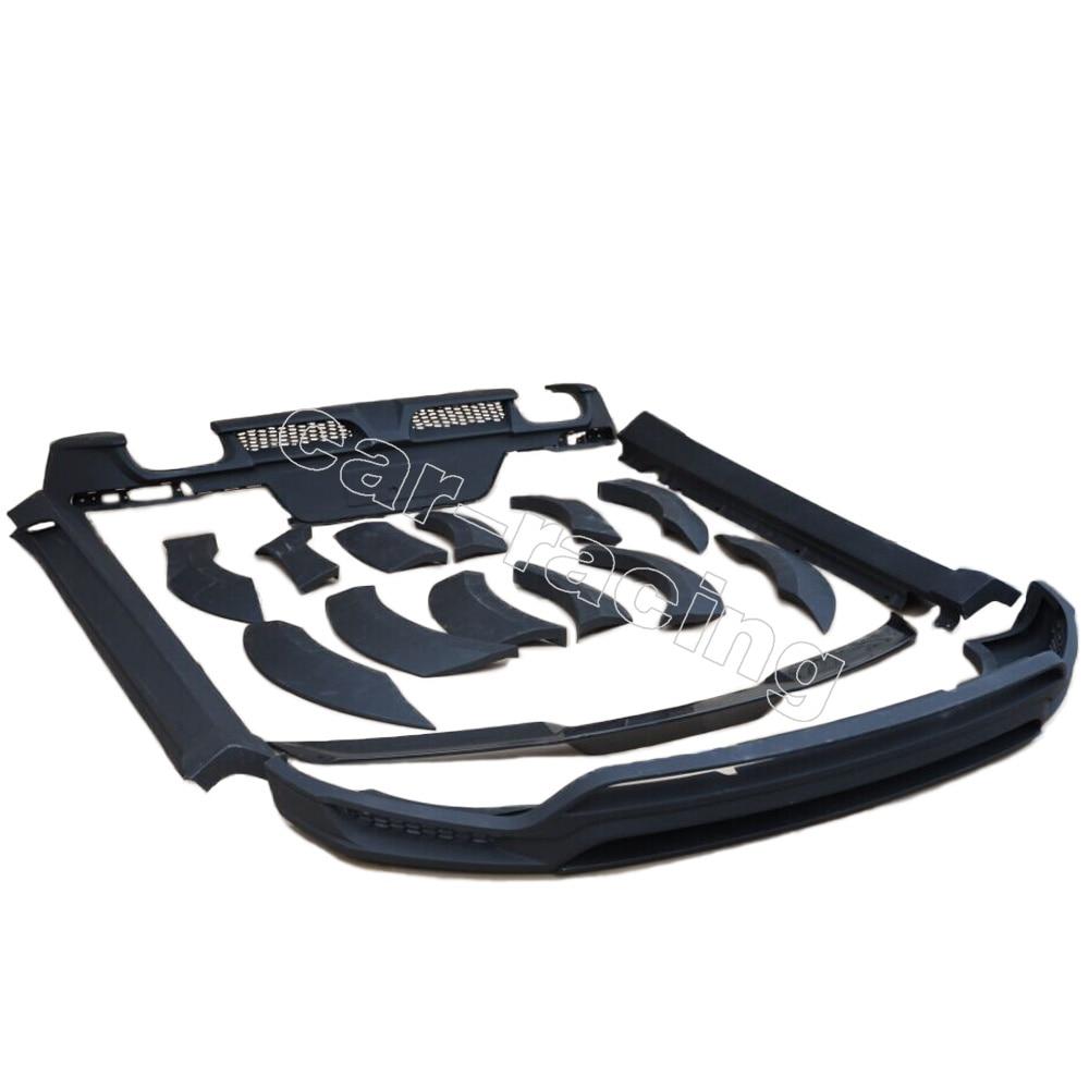 Для Macan PU аксессуары набор для всего тела для Porsche Macan 2014 2015 2016