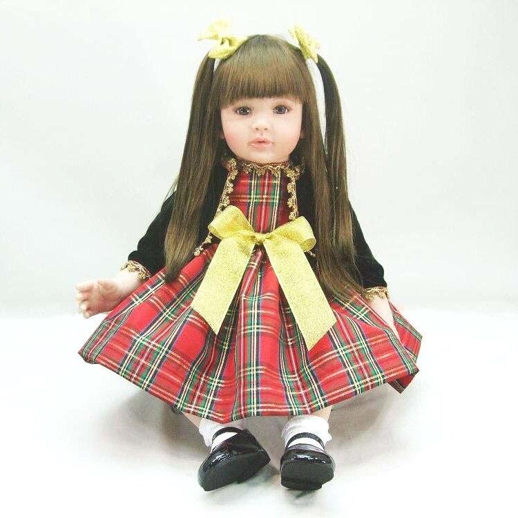 Pursue 22/56 cm Cute New Commodity Princess Reborn Silicone Vinyl Toddler Doll Toys for Girls Birthday Gift bebe reborne menina инструменты для выпечки ali commodity cookie