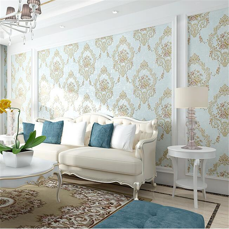 beibehang wallpaper papel de parede European non-woven wallpaper background wall bedroom living room full wallpaper background beibehang papel de parede retro classic apple tree bird wallpaper bedroom living room background non woven pastoral wall paper