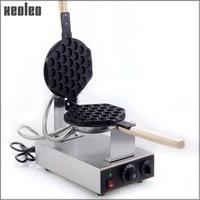 Xeoleo Stainless Steel Egg Waffle Maker 220V High Quality Electric Waffle Machine 180 Degrees Rotated HK
