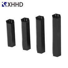 M2 M2.5 M3 M4 Black Hex Female Standoff Nylon Double Pass Plastic Hexagon Thread PCB Motherboard Spacer Pillar Circuit Boards 50pcs m2 m2 5 m3 m4 black hex nylon standoff spacer column flat head double pass nylon plastic spacing screws