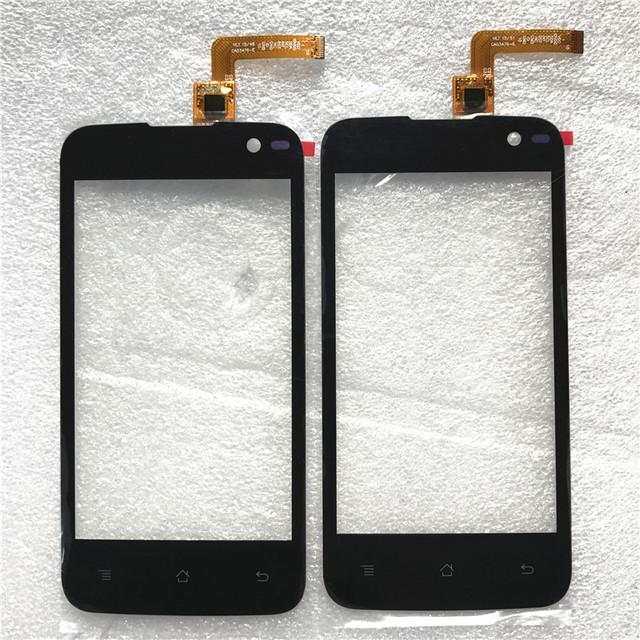 Novo sensor de tela sensível ao toque para archos 40 cesium frontal da tela de toque telefone móvel de vidro do painel de toque para archos 40 cesium frete grátis