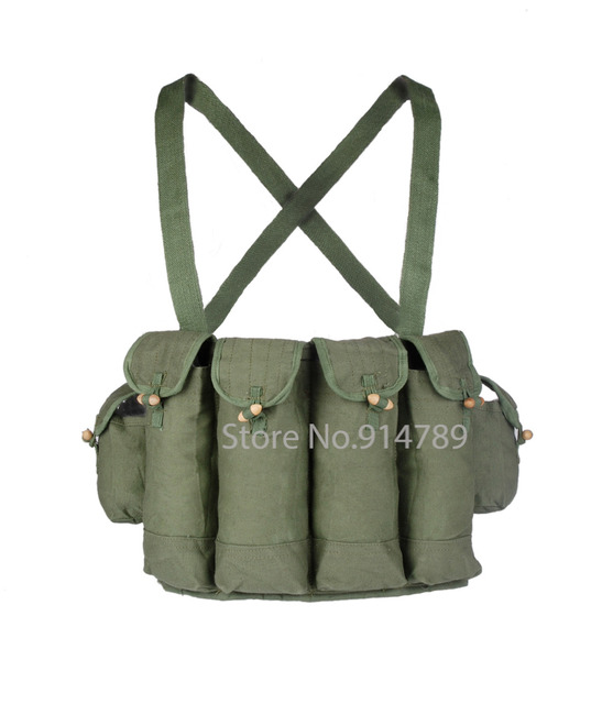 SURPLUS CHINESE TPYE 81 AK CHEST RIG AMMO POUCH -31270