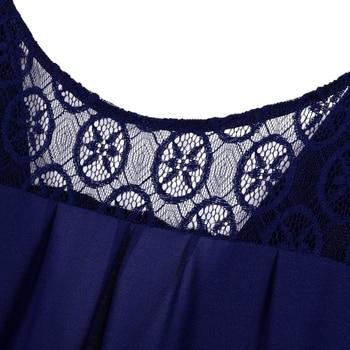5XL 6XL Large Size Robe 2018 Spring Summer Dress Big Size Elegance Long Dress Women Dresses Plus Size Women Clothing 1