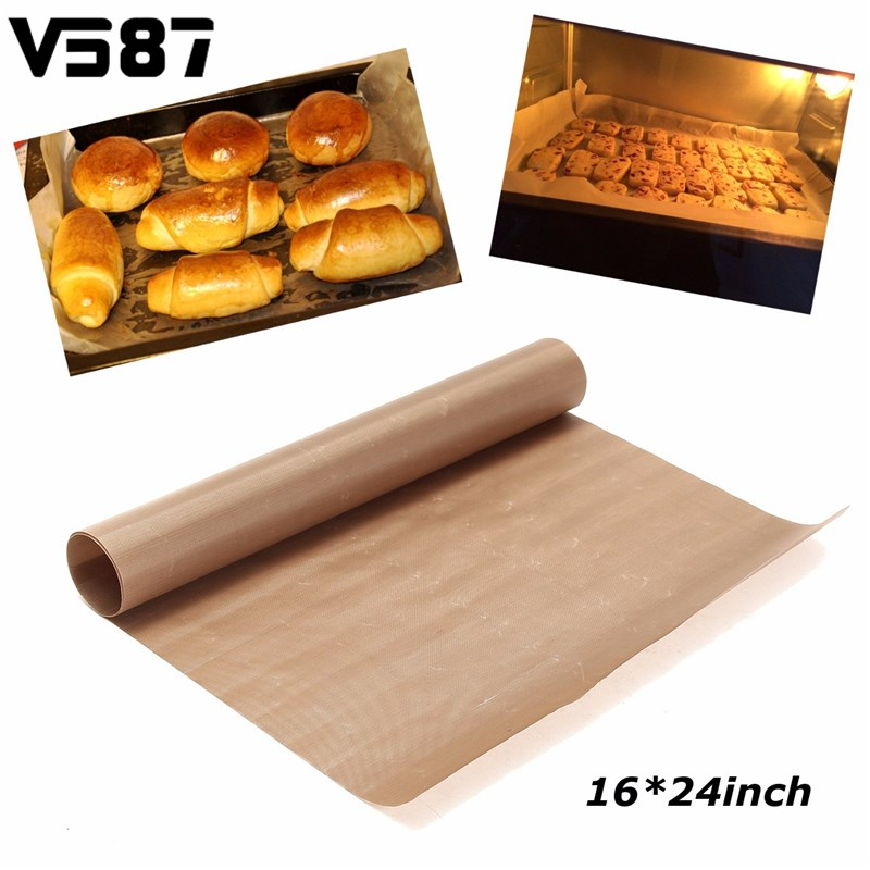 Microwave Glass Fiber Cooking Pad Sheet Non Stick Oven
