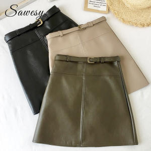 Sawesy Mini Skirts High Waist Skirts Women Pencil Skirt